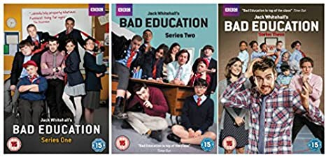 Bbc Bad Education Complete Series 1 3 Dvd Collection Extras Making Of Bad Education Video Diaries And With Special Guest Appearances From Harry Enfield Samantha Spiro Jake Canuso Frances Barber And