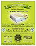 1 Cal King Size Mattress Bag. Fits All Pillow Tops and Box Springs. Ideal for Moving, Storage and Protecting Your Mattress. Heavy Duty Professional Grade. Easy to Slip on and Seal. Sleep with Peace of Mind and Don't Let the Bed Bugs Bite. Protect Your Investment with Our American Made, World Famous, 5 Star Rated, Eco Friendly Mattress Protection.