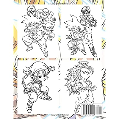 Buy Dragon Ball Z Coloring Book: An Amazing Book With Many Dragon Ball Z  Illustrations For Fans To Relax And Relieve Stress Paperback – April 12,  2021 Online In Indonesia. B092L6HGR6