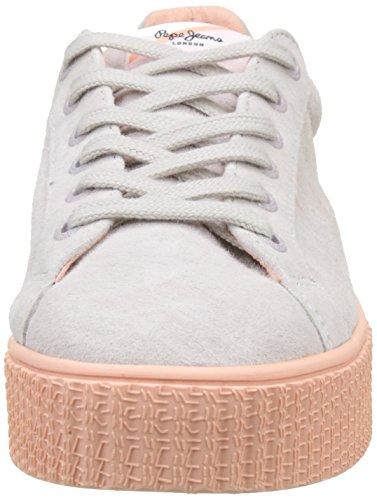 Frida Basses Sneakers Jeans Seasons Whitewash Pepe Blanc Femme qI5B1