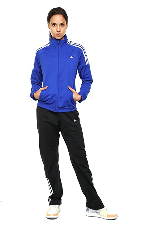 adidas Frieda Suit - Chándal para Mujer, Color Azul/Negro/Blanco ...