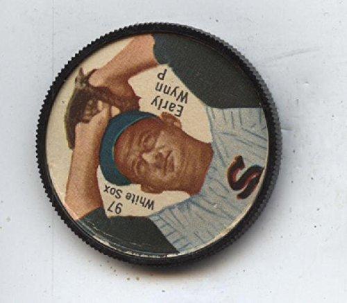 1962 Salada Baseball Coin #97 Early Wynn Pitching Nrmt (Salada Baseball Coins)