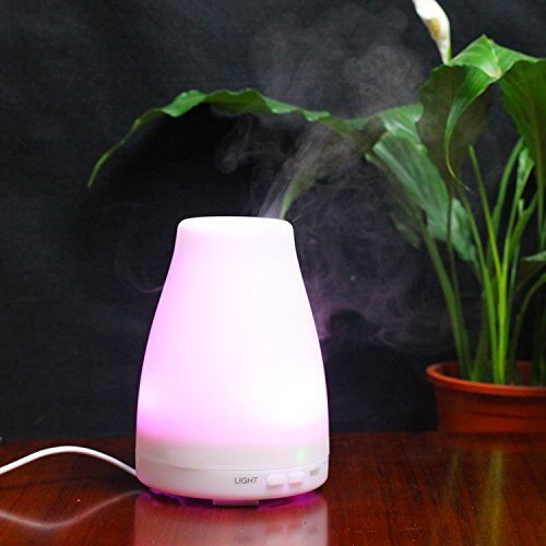 ForTech Electric Essential Oil Burners with Ultrasonic Technology for Home and Office,TT103,150 ml Capacity,0.03gallons Output Per Day