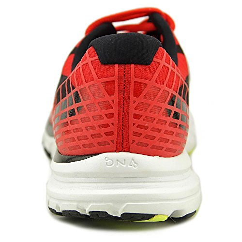 Brooks Launch 3 M, Scarpe da Corsa Uomo Rot (Highriskred/Black/Nightlife)