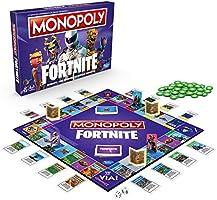 Hasbro Monopoly – Fortnite Juego en Caja, estación 2, edición Italiana: Amazon.es: Juguetes y juegos