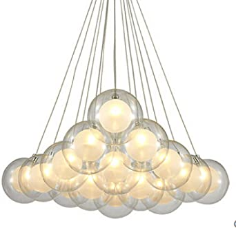 lámpara de luna Lámparas de mesa japonesas pequeñas luz de vidrio ...