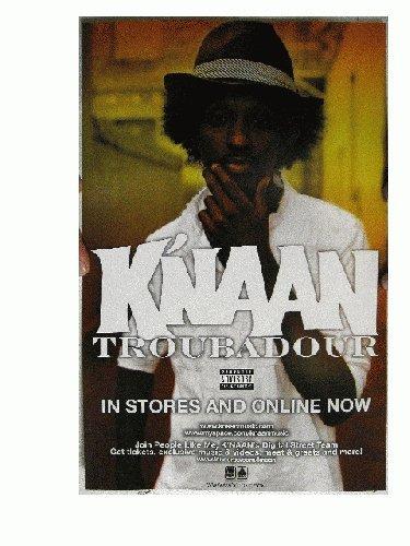 K'naan Knaan Poster Troubadour