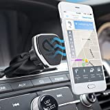 Naztech MagBuddy Universal Magnetic CD Slot, Car Phone Mount. Fully Adjustable Holder For Hands-free Phone Calls and GPS Use, For iPhone X/8/8 Plus, Samsung S9/S9+/Note 8/Smartphones & More