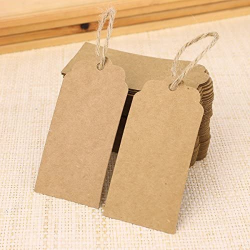 Gift Tags T82 72 Embossed Kraft Tags Price Tags Favor Tags