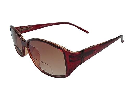 World of Glasses Damen Sonnenbrille Schwarz, Braun, Braun