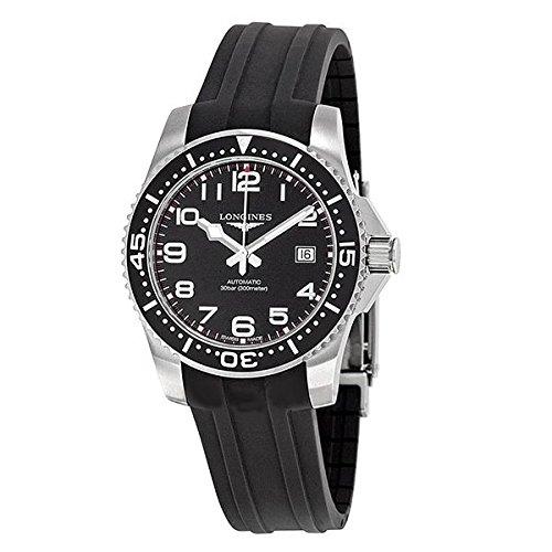 Longines Reloj Análogo clásico para Hombre de Automático con Correa en Caucho L36954532