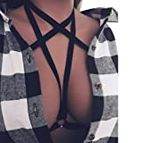 Fulltime(TM) Women Harness Bra Strappy Hollow Out Bust