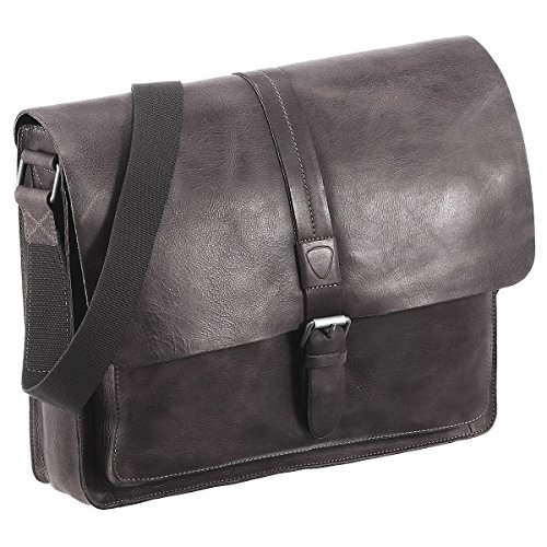 Strellson Blake 14'' Laptop-Messenger Bag 4010001692-703 Darkgrey