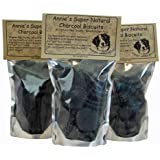 Annie's Natural Activated Charcoal and Coconut oil Dog Biscuits, Healthy, Homemade, Organic, good for your dog. For bad dog breath and gas. Charcoal House