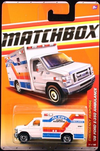 2011 MATCHBOX EMERGENCY RESPONSE WHITE ALERT FIRST for sale  Delivered anywhere in Canada