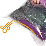 ziplock vacuum pump storage bags - The Chestnut 8 Travel Space Saver Bags - No Vacuum or Pump Needed - Storage Bags for Clothes - Reusable Packing Sacks - Travel Luggage Compression Bags