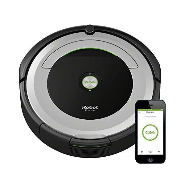 iRobot Roomba 690 Robot Vacuum-Wi-Fi Connectivity, Works with Alexa, Good for Pet Hair, Carpets, Hard Floors, Self… 1