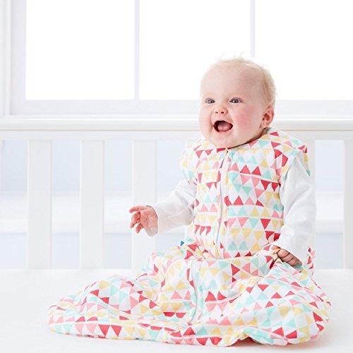 GRO AAA 5328 Rouge Zig Zag Travel Sacos de dormir grobag, 2.5 tog, 18 - 36 meses, color rosa: Amazon.es: Bebé
