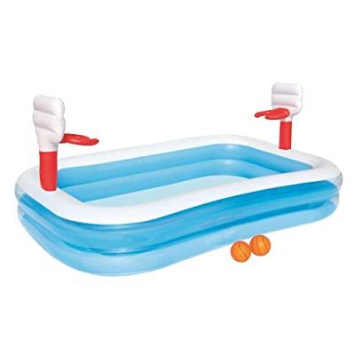 YYCYY Baby Inflatable Pool Basketball Baby Sports Pool Children Play Water Outdoor Inflatable Paddling Pool: Garden & Outdoor
