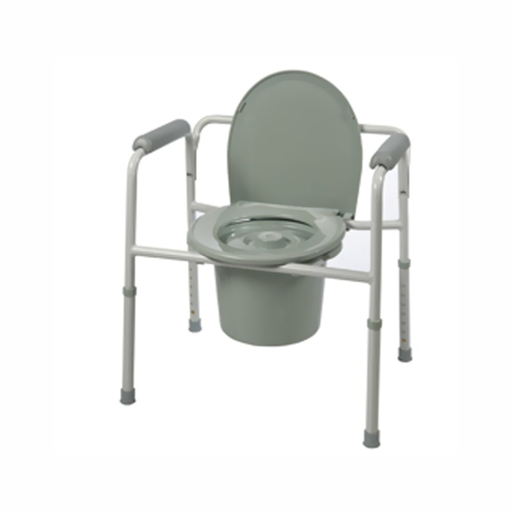Amazon.com: Roscoe Medical Three-In-One Commode-Elongated Seat ...