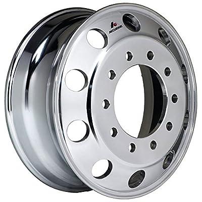"Accuride 24.5"" x 8.25"" Accu-Shield 10 Lug Alum Polished Both Sides Wheel (41362XPC)"