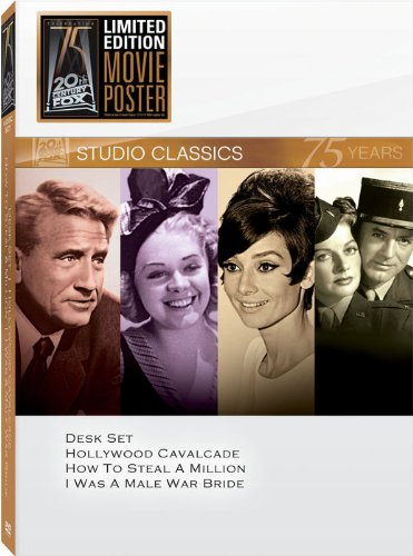 Classic Quad - Classic Quad Set 14 (Desk Set / Hollywood Cavalcade / How to Steal a Million / I Was a Male War Bride)