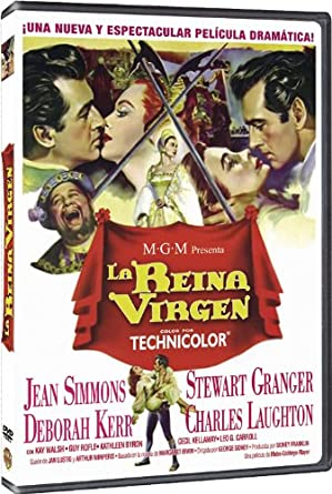 La Reina Virgen [DVD]: Amazon.es: Jean Simmons, Stewart Granger ...