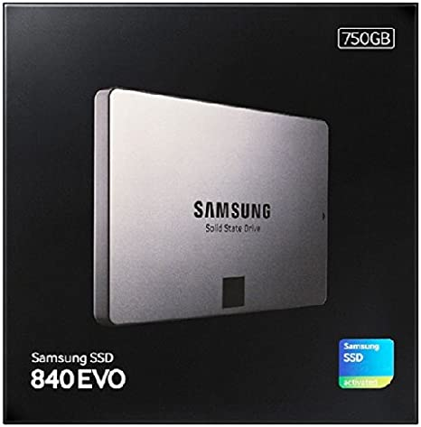 Samsung 840 EVO - Disco Duro sólido Interno SSD de 750 GB: Amazon ...