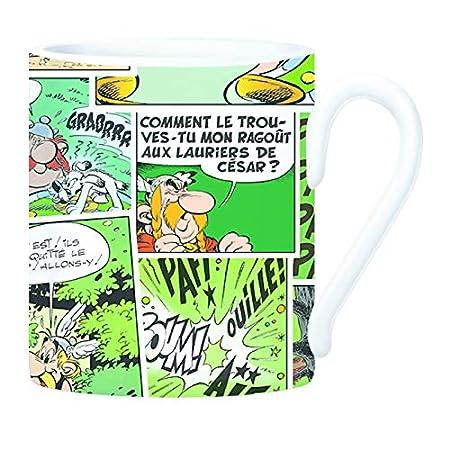 Clairefontaine 812895C Un mug Ast/érix diam/ètre 8x9,5cm motif Comics Rouge