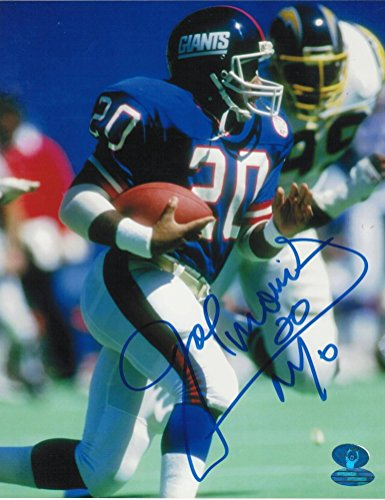Signed Joe Morris Photograph - with