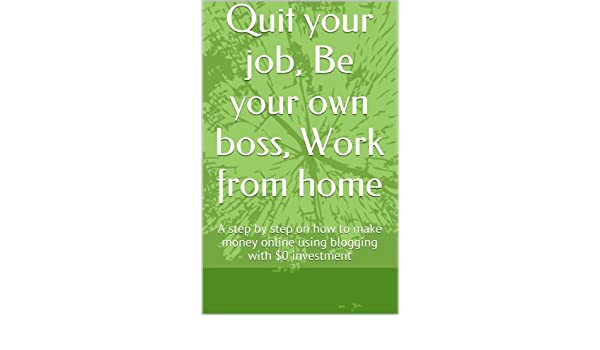 Amazon.com: Quit your job, Be your own boss, Work from home ... on working remotely from home, be your own boss entertainment, be your own person, work at home,