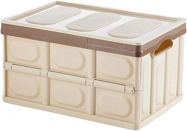 HUIQI Caja almacenaje Caja de Almacenamiento de Gran Utilidad Box 30L-55L, edredón Caja de Almacenamiento Caja de Almacenamiento de Juguete Libro (Azul, 2 Paquetes) Cajas almacenaje plastico: Amazon.es: Hogar