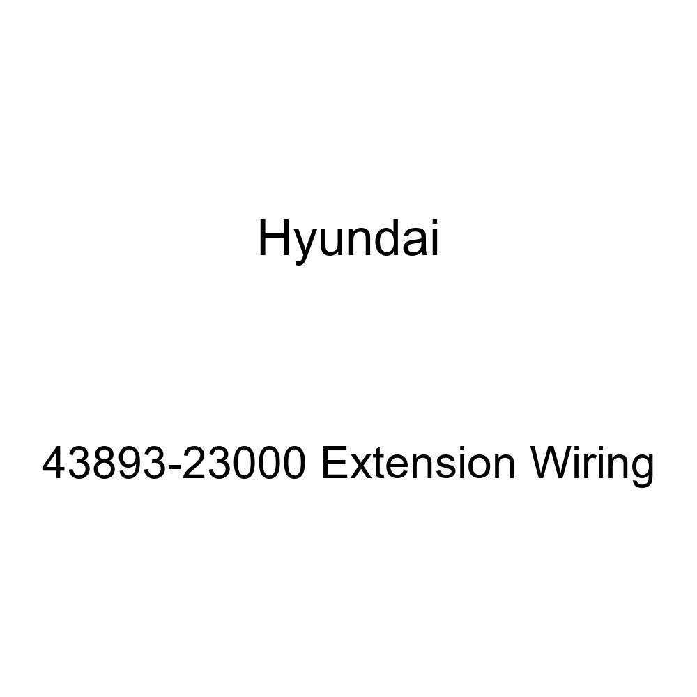 Genuine Hyundai 43893-23000 Extension Wiring