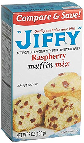 (Jiffy Muffin Mix, Raspberry (Pack of 12))