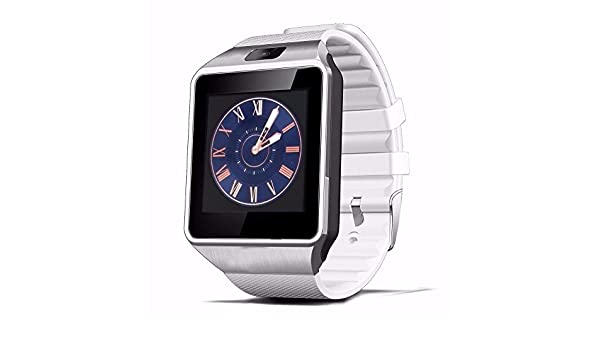 Amazon.com: 16G Memory Card Bluetooth Smart Watch DZ09 Relojes Smartwatch Relogios TF SIM Camera for IOS iPhone Samsung Huawei Xiaomi Android Phone(Silver ...