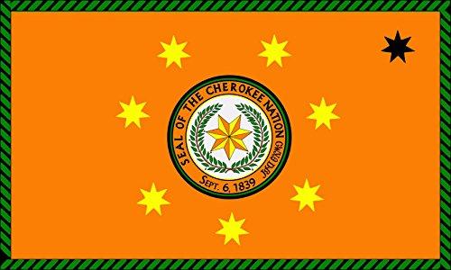 magFlags Large Flag Cherokee Nation | landscape flag | 1.35m