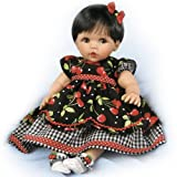 Ashton-Drake Cheryl Hill ''Sweetie Pie'' Baby Doll in Cherry Dress - By The Ashton-Drake Galleries