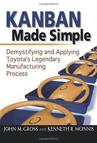 Kanban Made Simple: Demystifying and Applying Toyota's Legendary Manufacturing Process por John M. Gross
