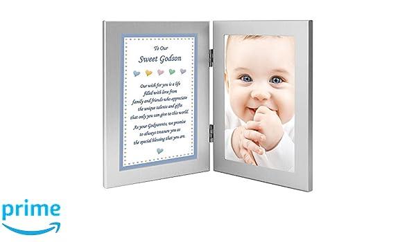 Amazon.com : Godson Birthday or Baptism Gift from Godparents \