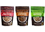 Earnest Eats Vegan Hot Cereal with Superfood Grains, Quinoa, Oats and Amaranth - American, Asian, and Mayan Blend - Variety 1 Each (12.6 oz)