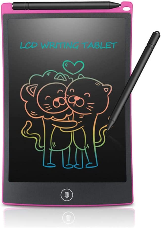 JNML Writing board 8.5 Inch LCD Writing Tablet Digital Drawing Tablet Handwriting Pads Portable Electronic Tablet Board ultra-thin Board,colors dark blue Colors White