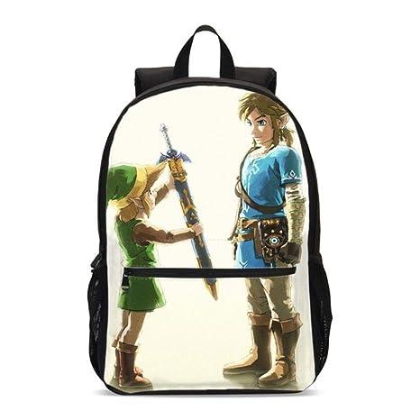 Twhoixi Anime The Legend of Zelda Cosplay Link Bookbag ...