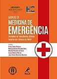 capa de Manual Medicina de Emergência. Disciplina de Emergências Clínicas Hospital das Clínicas da Fmusp