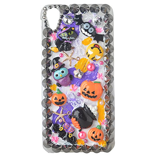 [Halloween Theme Case for Alcatel One Touch IDOL 3 5.5inch,Yaheeda 3D Handmade Rivets Pumpkin Demon Cartoon Design Clear Cellphone] (Handmade Candy Costumes)