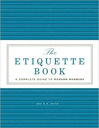20 Book Ideas for Etiquette Professionals