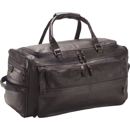 Clava Leather Multi-Compartment Duffel