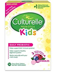 Culturelle Kids Chewables Daily Probiotic Formula, One Per Da...