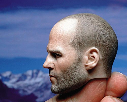 MR.CHAOS 1/6 Scale Action Figure Head Carved Tough Guy Head Sculpt for Figure Body