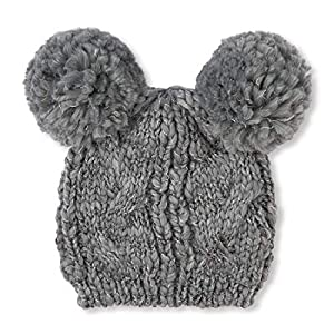 The Children's Place Big Girls' Fashion Pom Hats