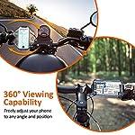 Cocoda-Supporto-Bici-Smartphone-Porta-Cellulare-Bici-Ruotabile-a-360-Regolabile-Silicone-Supporto-Manubrio-Moto-MTB-per-iPhone-11-PRO-MaxXSXS-MaxXR-Samsung-Galaxy-Altro-47-65-Smartphone